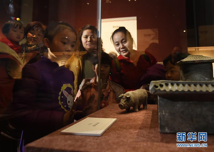 (文化)(3)南京博物院举办院藏猪文物展